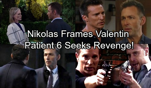 General Hospital Spoilers: Recast Nikolas Uses Patient 6 To Eliminate Valentin - Frames Cassadine Rival For Twin Study