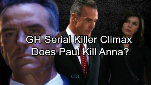 'General Hospital' Spoilers: GH Serial Killer Story Climax – Paul's Obsession Puts Anna in Danger