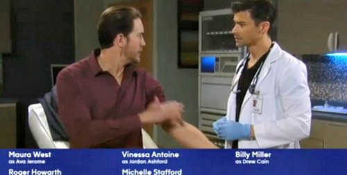 General Hospital Spoilers: Monday, March 12 – Drew Gives Franco A Chance – Liz Ponders Sam's Secret – Anna Attacks Valentin