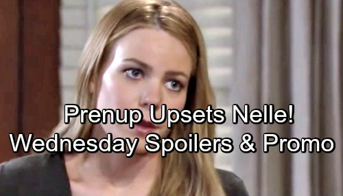 General Hospital Spoilers: Wednesday, July 11 – Michael's Prenup Angers Nelle – Maxie Gets Busted – Drew Confronts Nina
