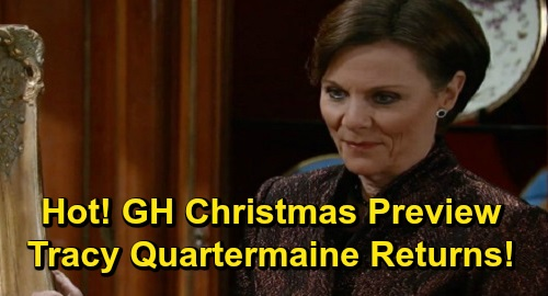 General Hospital Spoilers: GH Christmas Preview – Exciting Twists, Amazing Miracles, Family Reunions and Holiday Homecomings