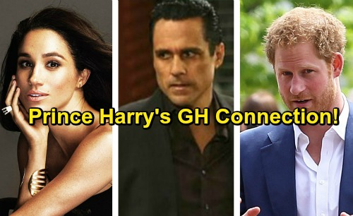 General Hospital Spoilers: Shocking GH Connection To Prince Harry - Girlfriend Meghan Markle's Secret Soap Past
