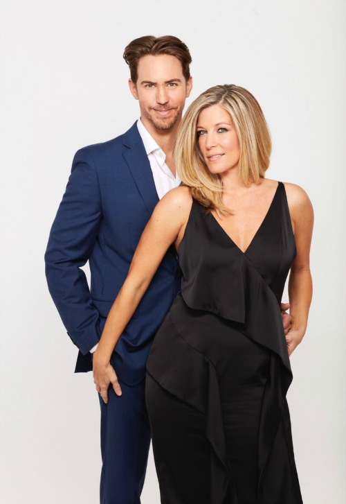 General Hospital Spoilers: New Carly and Peter Promo Pic – Onscreen Romance for Real-Life Loves, Laura Wright and Wes Ramsey?