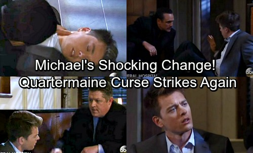 General Hospital Spoilers: Quartermaine Curse Strikes Again - Michael Shocking Change After Head Injury?