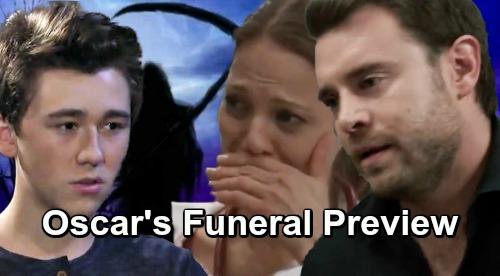 General Hospital Spoilers: Oscar Funeral Preview – Somber Sendoff for Josslyn's Beloved Boyfriend, Kim Struggles to Let Go
