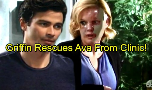 General Hospital Spoilers: Griffin Saves Ava from Clinic's Deadly Clutches – Heroic Rescue Leaves Ava Grateful, Love Blooms