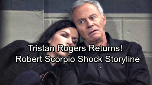 General Hospital Spoilers: Tristan Rogers Back as Robert Scorpio In Shocking Return Arc