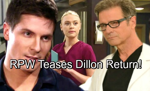 General Hospital Spoilers: Robert Palmer Watkins Dishes on Dillon's GH Return – Kiki Needs Her Remorseful Ex