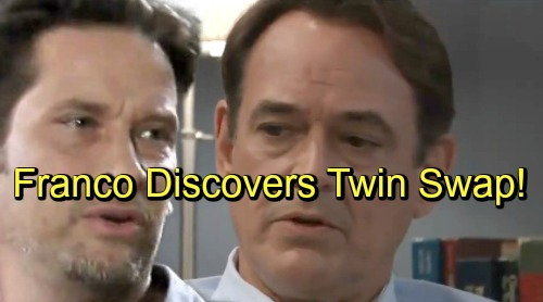 General Hospital Spoilers: Franco Faces Evil Twin Bombshell – Discovers Kevin and Ryan's Swap, Blamed For Murder