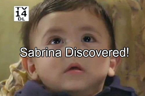 General Hospital (GH) Spoilers: Sonny and Michael Find Sabrina – Why Was Baby Dumped at the Quartermaine's?