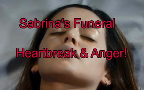 'General Hospital' Spoilers: Heartbreak At Sabrina's Funeral - Joe vs Michael Showdown Over Teddy at Ceremony