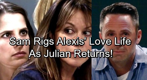 General Hospital Spoilers: Sam's Sneaky Move Sparks Outrage – Alexis' Love Life Gets Messy As Julian Returns