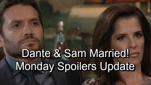 General Hospital Spoilers: Monday, November 12 Update – Dante Married to Sam – Julian's the Mob Boss - Sonny's Dream Shockers