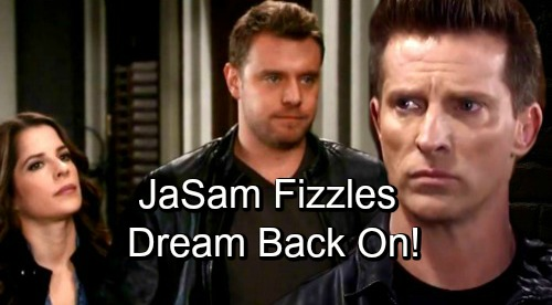 General Hospital Spoilers: GH Stalls JaSam Sizzle – Dream Reunion Puts Sam Back with Drew?