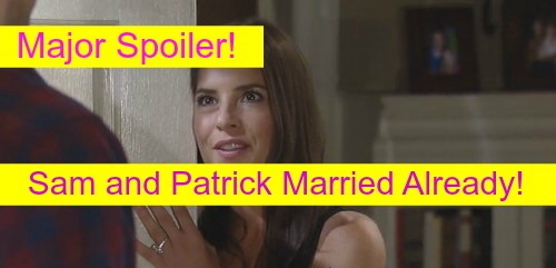 General Hospital (GH) Spoilers: Sam and Patrick Married Already, Secretly Eloped – Reveal at Liz and Jake's Failed Wedding