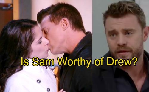 General Hospital Spoilers: Sam Sets Drew Up for More Heartache With Jason – Is Sam Worthy of Drew's Deep Devotion?