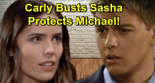General Hospital Spoilers: Meddling Carly Sizes Up Sasha for Michael – Will She Smell a Rat or Sing Sasha's Praises?