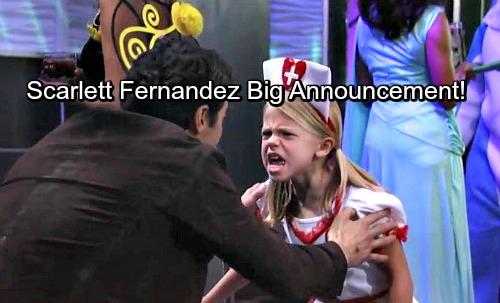 General Hospital Spoilers: Scarlett Fernandez's Big Announcement