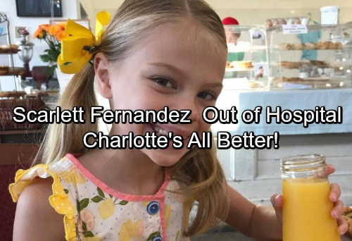 General Hospital Spoilers: Scarlett Fernandez Released From Hospital - Thanks Fans for Well Wishes