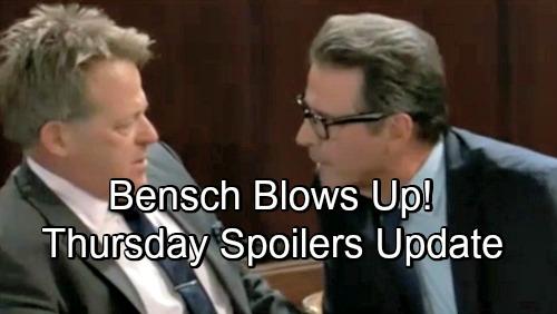 General Hospital Spoilers: Thursday, August 9 Update – Scott's Sabotage Enrages Dr. Bensch – Alexis Demands Answers – Sonny's Sorrow