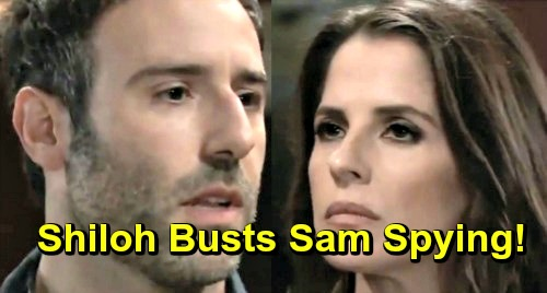 General Hospital Spoilers: Furious Shiloh Busts Sam, Caught Red-handed in DoD Records Room