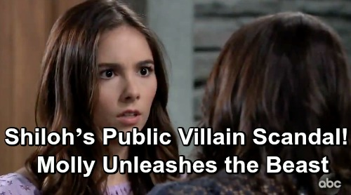 General Hospital Spoilers: Shiloh's Public Villain Scandal – Molly Unleashes the Beast, Drags Willow and Lulu Into Danger