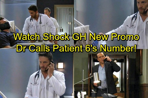 General Hospital Spoilers: Ava Gives Dr. Klein Phone Number, Betrays Patient 6 - Klein Calls, Sonny Answers - Watch New Promo