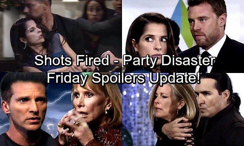 General Hospital Spoilers: Friday, October 27 Update – Jason's Heated Battle – Patient 6's Rescue Mission – Dark Side Tempts Valentin