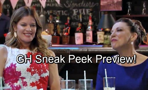 General Hospital Spoilers: GH Sneak Peek Video – Maxie Hopes for Peter Leads, Hides Her Concern from Suspicious Sam