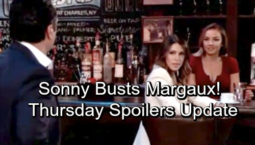 General Hospital Spoilers: Thursday, October 25 Update – Sasha's Stunning Invitation – Kristina Helps Oscar – Spinelli's Margaux Bomb