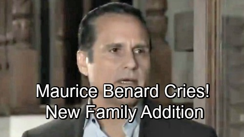 General Hospital Spoilers: Maurice Benard Gets Emotional and Cries - Celebrates New Family Addition With Touching Video