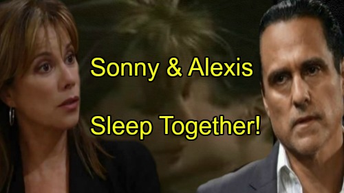 'General Hospital' Spoilers: Alexis and Sonny Sleep Together In Moment of Drunken Guilty Passion
