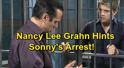 General Hospital Spoilers: Nancy Lee Grahn Hints at Sonny's Arrest – Shocking Nurses Ball Drama