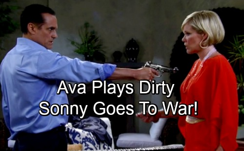 General Hospital Spoilers: Ava Plays Dirty Against Sonny, Brutal War Revs Up – Corpse Secrets and Custody at Stake