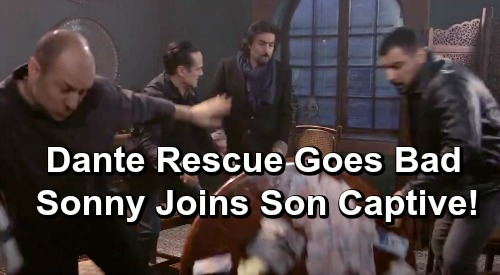 General Hospital Spoilers: Dante's Rescue Goes Wrong, Sonny Joins Son in Captivity – Carly and Lulu Fear the Worst