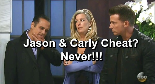 General Hospital Spoilers: Why GH Will NEVER do a Jason and Carly Hookup – CarSon Destruction Looms, But No Chance for Jarly