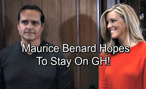 General Hospital Spoilers: Maurice Benard Says 'Anything Can Happen,' But Hopes to Stay On GH As Sonny