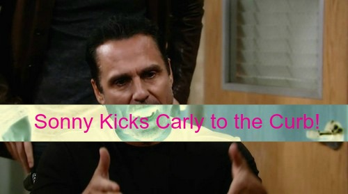 General Hospital (GH) Spoilers: Sonny Kicks Carly to the Curb - Liz Begs Jake to Stop Identity Search - Julian Demands Leo