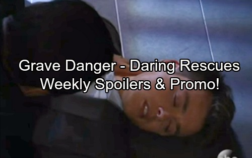 General Hospital Spoilers: Week of March 5-9 – Grave Danger, Bold Moves and Dramatic Rescues