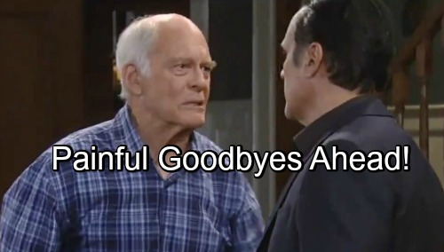 General Hospital Spoilers: Mike's Rapid Decline Brings Heartache for Sonny – Tough Decisions and Painful Goodbyes Ahead