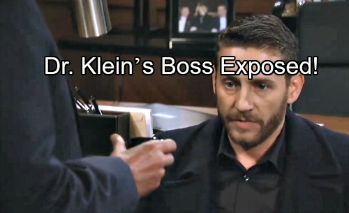 General Hospital Spoilers: Dr. Klein's Boss Exposed – Motives for Jason Twin Kidnapping Explained