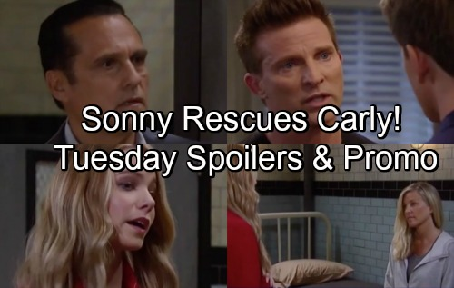 General Hospital Spoilers: Tuesday, July 3 – Sonny Rescues Carly from Nelle – Jason Blasts Michael – Lucas Turns to Sam