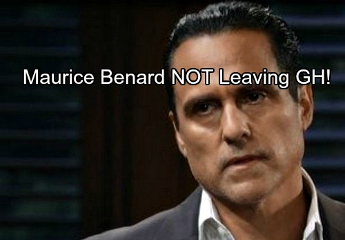 General Hospital Spoilers: Maurice Benard NOT Leaving GH – Sonny Staying in Port Charles