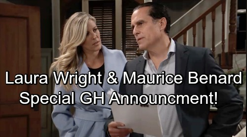 General Hospital Spoilers: Laura Wright and Maurice Benard Release GH Special Announcement
