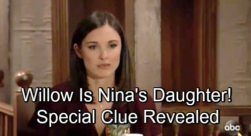 General Hospital Spoilers: Nina's Real Daughter Could Be Willow - Necklace Hint Explained