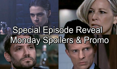 General Hospital Spoilers: Special Episode Sneak Peek - Monday, November 12 – Young Sonny Changes GH History - Dante's Return