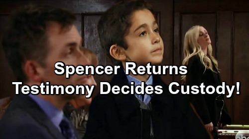 General Hospital Spoilers: Spencer Cassadine Returns to Port Charles - Testifies Against Valentin, Wins Custody For Lulu?