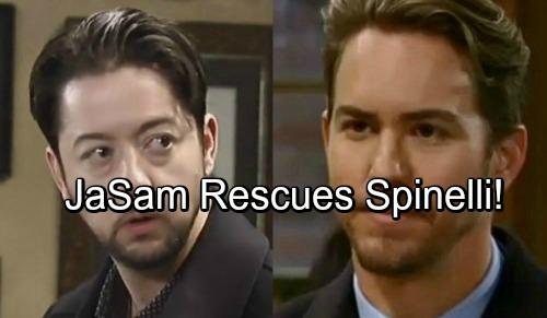 General Hospital Spoilers: Sam Shocks Jason in Switzerland, Team Rescues Jailed Spinelli - JaSam Heats Up Again
