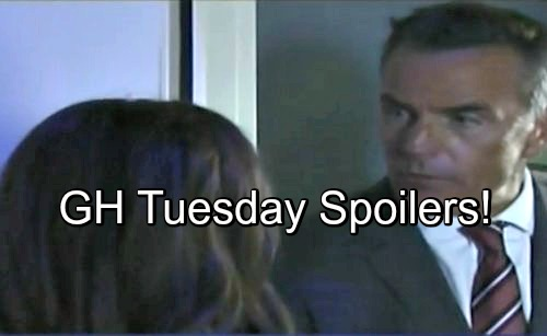 'General Hospital' Spoilers: Blackout Grips GH – Serial Killer Paul Faces Hayden – Griffin Caught With Pants Down