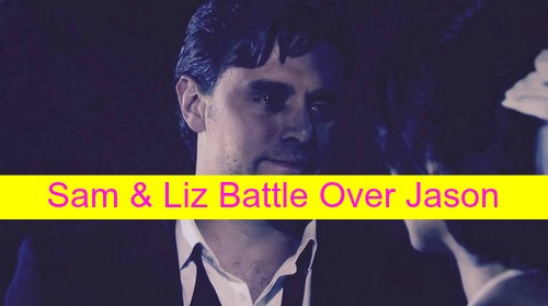 General Hospital (GH) Spoilers: Sam and Liz Prepare to Battle Over Jason Morgan's Love - Drives Him Away?